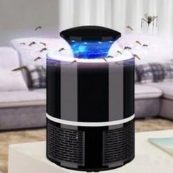 1X (2018 új intelligens LED-es UV-elektromos szúnyoggyilkos lámpa, USB töltés zajmentes A8W1