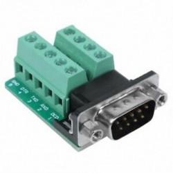 1X (RS232 soros csatlakozó a DB9 csatlakozóhoz, a dugaszoló csatlakozó csatlakozójelei Mod Y5S1 csatlakozója)