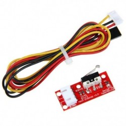 1X (RAMPS 1.4 Endstop kapcsoló RepRap Mendel 3D nyomtatóhoz 70 cm-es G1J5 kábellel)
