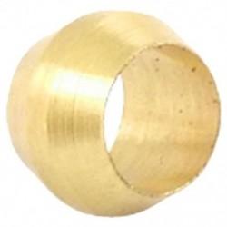 6X (4 mm-es lyukú réz sárgaréz kompressziós hüvely hüvely gyűrű K4I4)