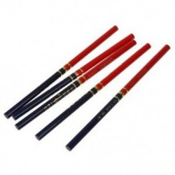 ZH 5 db-os, vörös és kék jelöléssel rajzolt ács ceruza Y2B6