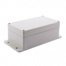1X (lezárt műanyag ház, elektromos kapcsoló csatlakozó doboz, tok 158x90x60mm X1S8)