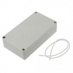2X (műanyag projekt elektronikai ház csatlakozódoboz 158 x 90 x 40 mm F4U6)