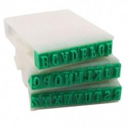 1X (levehető 26 betűs angol ábécé műanyag bélyegző készlet N3D6)