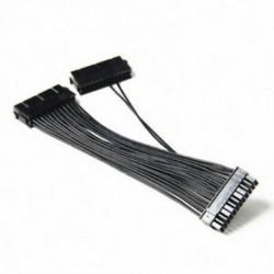 Kettős Psu kábel, 24 tűs bányászati hosszabbító kábel az ATX Mining alaplapokhoz, Ca W7K7