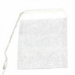 1X (új, 50 db üres teás tasak, húros hőszűrő szűrőpapír, gyógynövény, laza teászsák J2I6