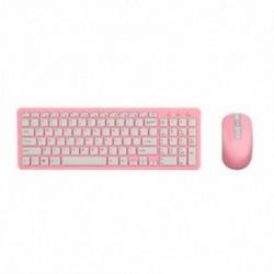 Rózsaszín - Vezeték nélküli billentyűzet és optikai egér