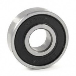 1X (6201RS árnyékolt mélyhornyú golyóscsapágy 32 mm x 12 mm x 10 mm K1Z7)
