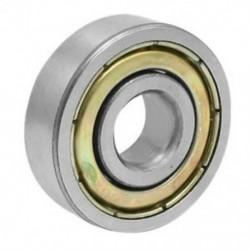 1X (6200ZZ 2 fémpajzsok, mélyhornyú golyóscsapágy, 10 mm x 30 mm x 9 mm, B8X2)