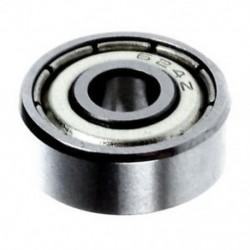 1X (4 * 13 * 5 mm-es tömítésű mélyhoronyú fém golyóscsapágyak 624Z, ezüst H8G4)