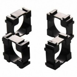 2X (50db 1x cellás tartó az 18650 akkumulátor számára (tartókonzol tartó) Q2Z6 U1K3