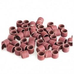 Csiszolópapír gyűrű 1/2 hüvelyk 1/2 hüvelyk 80 Grit Fa polírozott faragott fémlakk V1S1