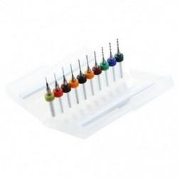 1X (Doboz 10x, 0,3-1,2 mm, PCB, kis fúrók, NYÁK fúrók, Fúró fúró C6B8)