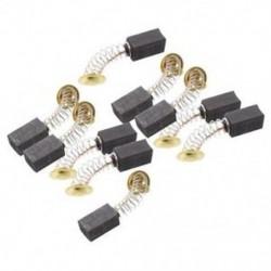 10 pár 6,5 x 7,5 x 13 mm-es szerszám szénkefék 999021, Hitachi D9L6 L7Y0