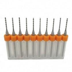 1X (10db / készlet 0,8 mm-es kiváló minőségű NYÁK nyomtatott áramköri lapra, keményfém mini fúró N5K3