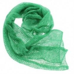 zöld - 1X (Babaszövetből készült Mohír takaró takarók, babafotózási kiegészítők P8J4)