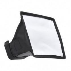 15 * 17 cm-es Mini Studio Photo hordozható softbox diffúzor a Flash Speedlit N6V3 készülékhez