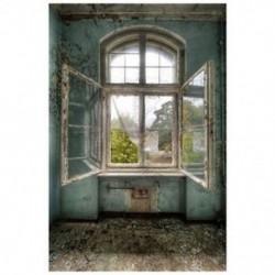 150x90cm-es Nyitott ablakos háttér stúdió fotózáshoz - J7Y9