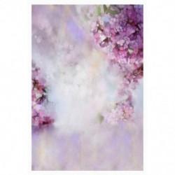 150x100cm-es Romantikus virágos háttér stúdió fotózáshoz - N4U5