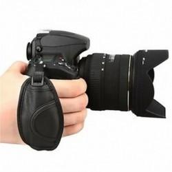 Bőr kézfogó heveder Nikon D5000 D5100 D7000 D90 hasznos kiegészítőkhez BT