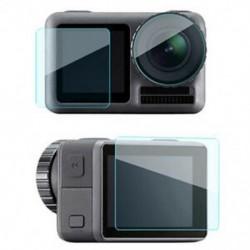 Dji Osmo Action Sport fényképezőgép edzett üveg képernyővédő fólia Scrat J9N7