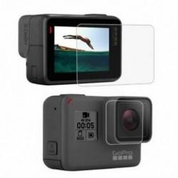 PULUZ GoPro kiegészítőkhez edzett üveg film LCD HD képernyővédő fólia   Hou C6X6