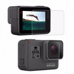 2X (PULUZ GoPro kiegészítőkhez edzett üveg film LCD HD képernyővédő   L1C9