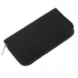 2X (22 db SD CF mini SD memóriakártya tároló hordtáska tartó fekete F8E7)