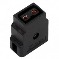2X (D-Tap tápcsatlakozó, újracsinálható barkács aljzat, videokamera DSLR Rig Power Cab N5Q7)