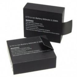 2 db 3,7 V 900mAh tölthető lítium-ion akkumulátor SJ4000 WiFi-hez SJ5000 WiFi M10 M5P3