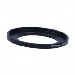 1X (fényképezőgép alkatrészek 37 mm-49 mm objektívszűrő fokozatos gyűrűs adapter fekete P2M9)
