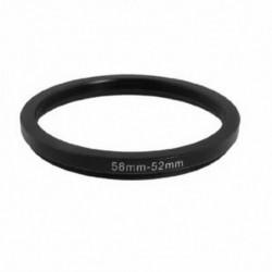 2x (58 mm-52 mm-től 58 mm-től 52 mm-ig fekete Lépés lefelé gyűrűs adapter a T7B9 kamera számára)