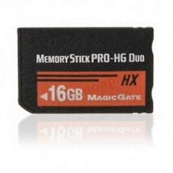 16 GB-os memóriakártya MS Pro Duo HX Flash kártya a Sony PSP Cyberhot E5J3 fényképezőgéphez