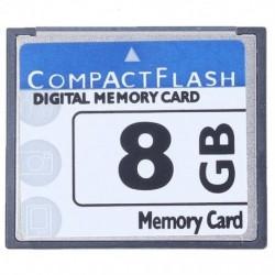 2X (Professzionális 8 GB-os kompakt flash memóriakártya (fehér és kék) Z1M5)