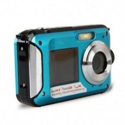 Duplaképernyős HD 24MP vízálló digitális videokamera 1080P DV víz alatti X T1H8