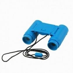 Gyerek gyerekek műanyag 26 mm x 2,5x összecsukható távcső távcső játékkék D8U7