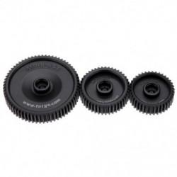 1X (Fotga Standard 38T 43T 65T 0,8 Mod Pitch Gear Set for DP500II S 2S DP300 X1G7