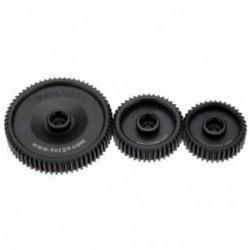 2X (Fotga Standard 38T 43T 65T 0,8 Mod Pitch Gear Set for DP500II S 2S DP300 V6U7