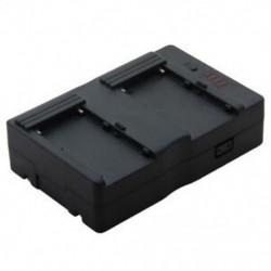 Kettős F970 / F770 Sony V-szerelő elemlemez a Tilta 5D 7D BMCC-hez BMPCC FS700 F8K4