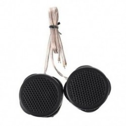 2 x 97dB 500 W-os kupolafutó feketek a J2K8 V4X1 autós audiorendszerhez