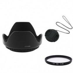 Objektív kupak   motorháztető   UV-szűrő Kompatibilis 52 mm-es Nikon D3100 18-55 mm-es CT U0C P3K1
