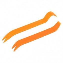 Új, 1 db-os, 2 db-os narancssárga műanyag, nem karcolással ellátott, újratelepítő készlet, az autó panel