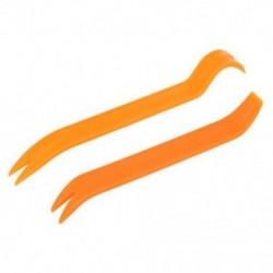 2X (1 szett (2 db) Nincs karcolású audio-újrahasznosító szett Autópanel eltávolító eszköz - narancssárga B6E5)