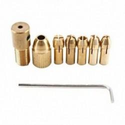 8 darabos, 0,5-3 mm-es fúrótokmány-gyűjtő készlet, gyorscserélő készlet a B6G7 mini szerszámokhoz
