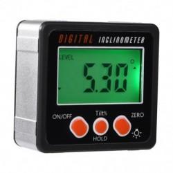 Elektronikus szögmérő digitális dőlésmérő 0-360 Alumínium ötvözet, digitális Bev X2X8