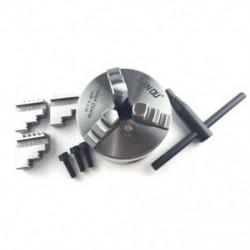 1X (SAN OU 3 állkapocs K11-80 fém eszterga tokmány Kézi tokmány Önközpontosító eszterga R8P2