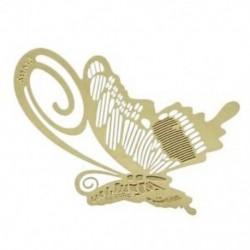 Könyvjelző könyvjelző fém pillangó pillangó könyvolvasó súgó Ajándék arany F0N0