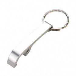2X (alumínium kulcstartó sörpalacknyitó U7W9)