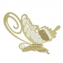 1X (könyvjelző könyvjelző fém pillangó pillangó könyvolvasó súgó Ajándék arany L4U4)