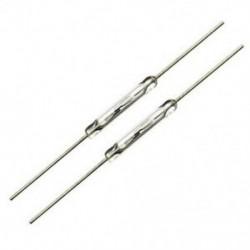 110 db Reed érintkező 14 mm x 2 mm Miniatűr reed érintkező Reed kapcsoló 44mm len Z2U9